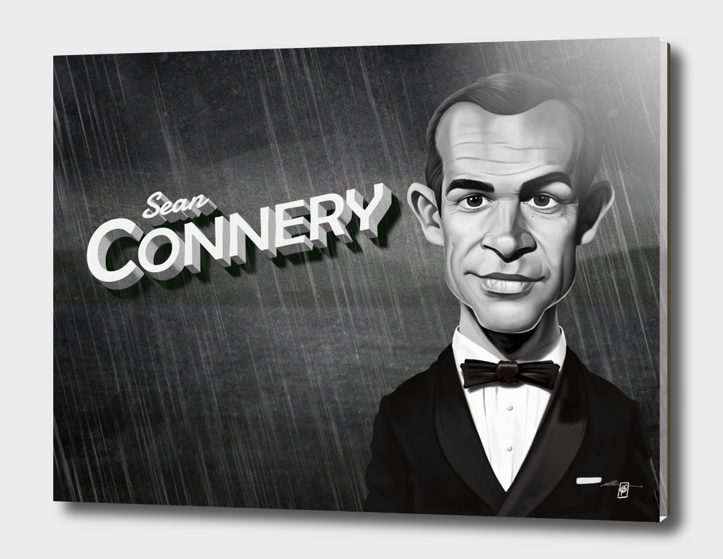 Sean Connery - vintage movie card