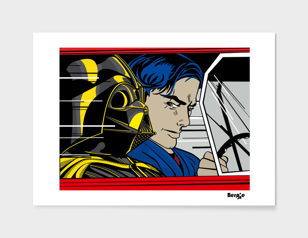 Star Wars Pop Art - In the Hover
