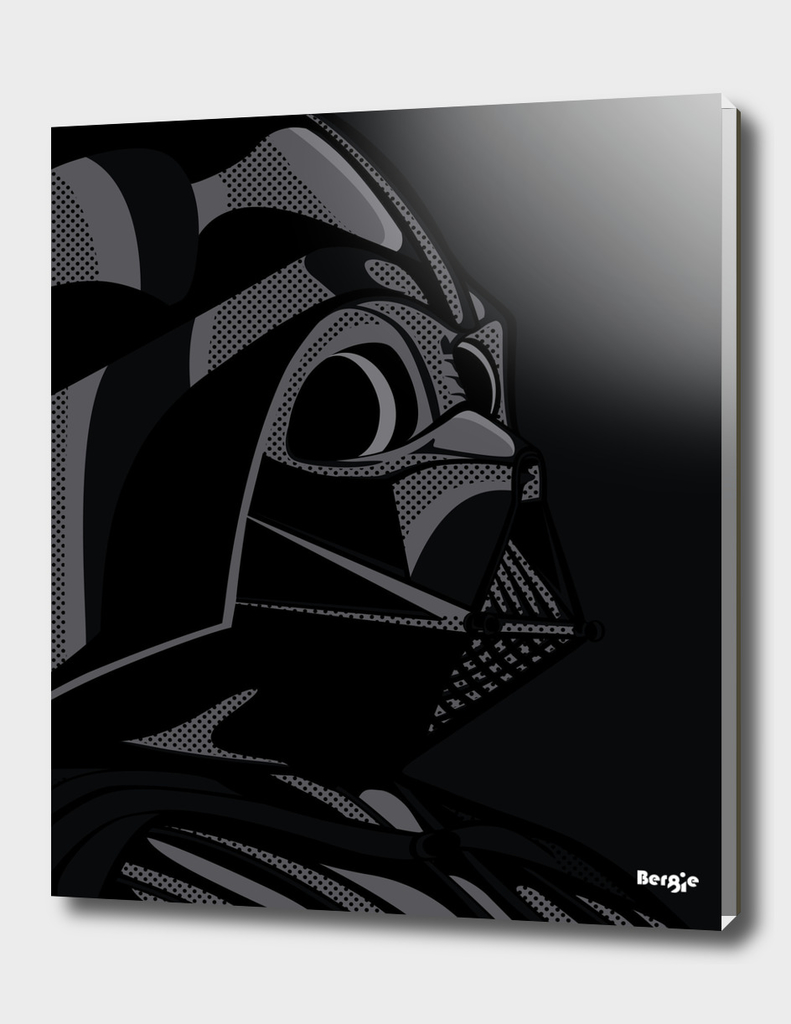 Star Wars Pop Art - Vader black