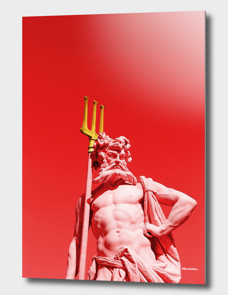 Pluto Statue - Nymphenburg Palace - Munich