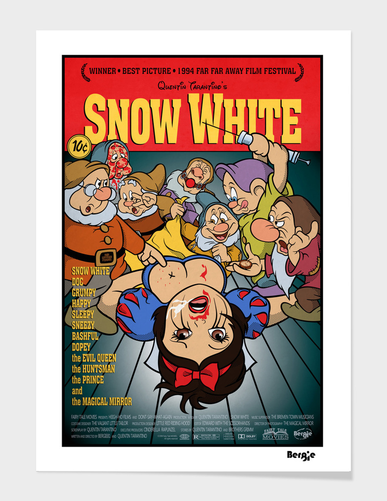 Pulp Fiction - Snow White Mashup