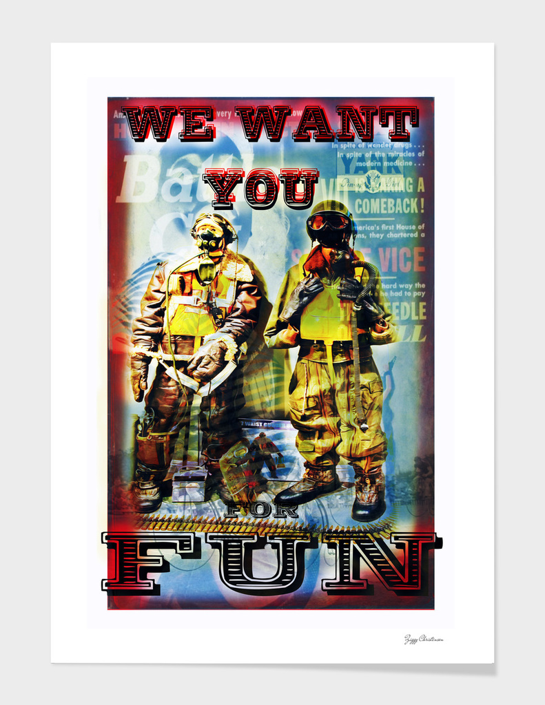 We Want You For Fun