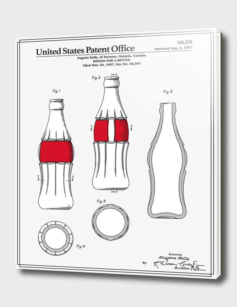 Soda Bottle Patent