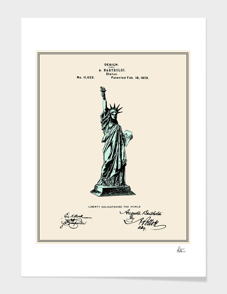 Statue of Liberty Patent