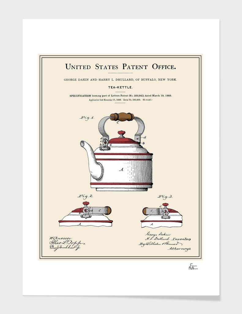 Tea Kettle Patent
