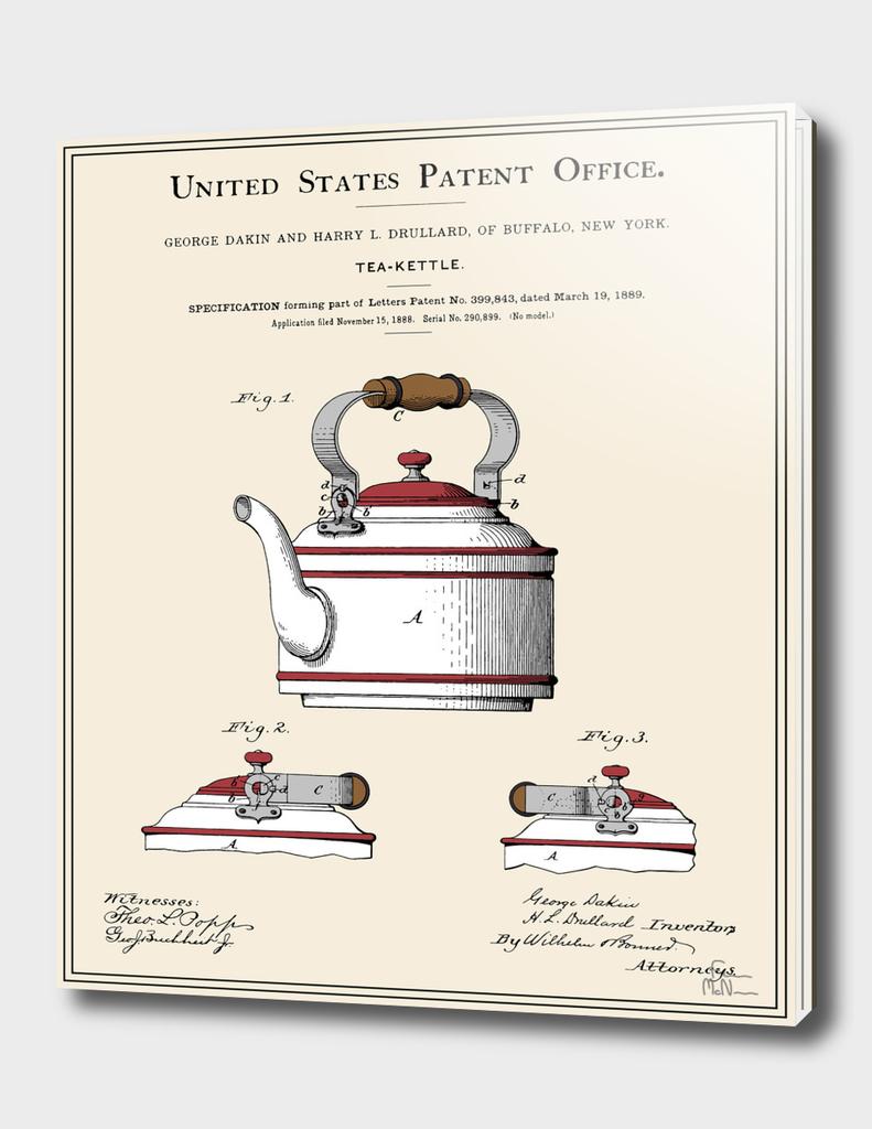 Tea Kettle Patent