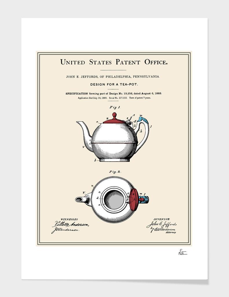 Tea Pot Patent