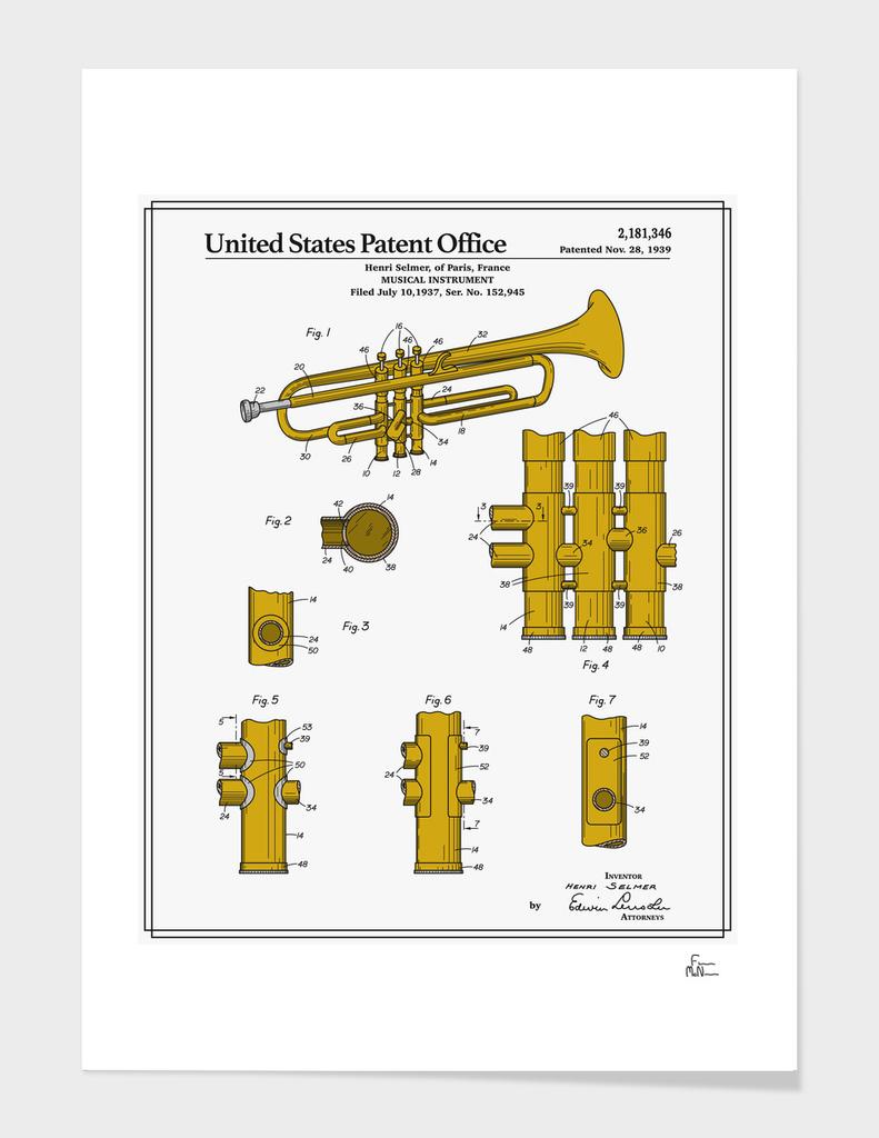 Trumpet Patent