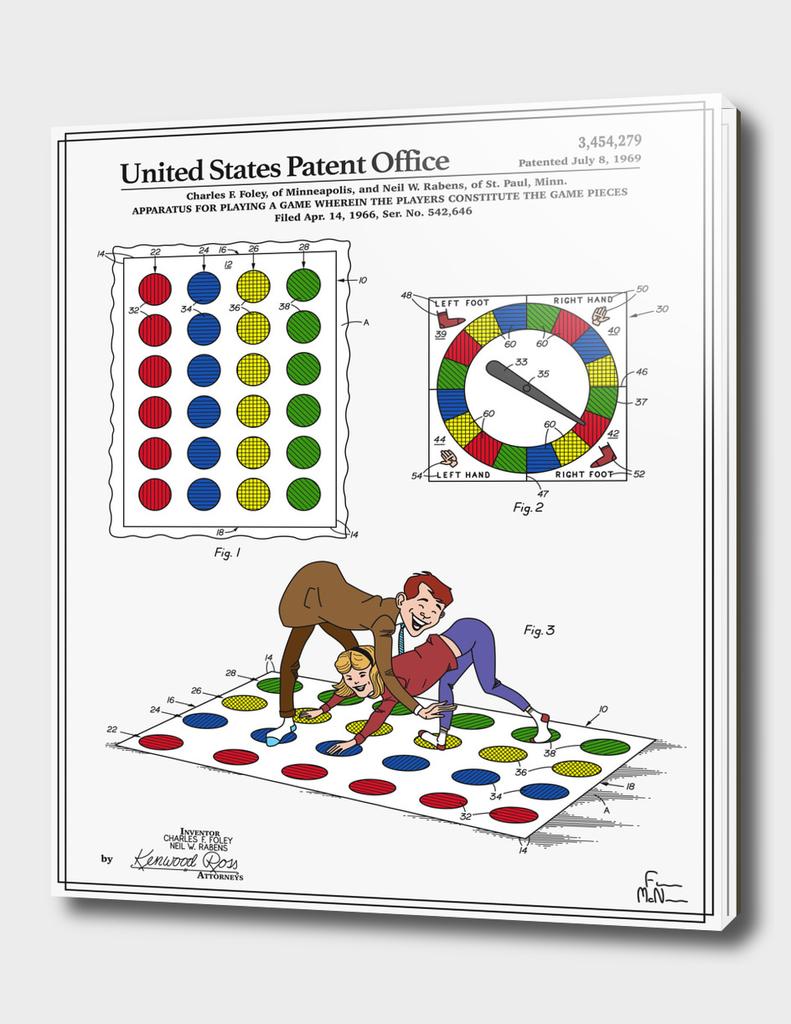 Vintage Game Patent