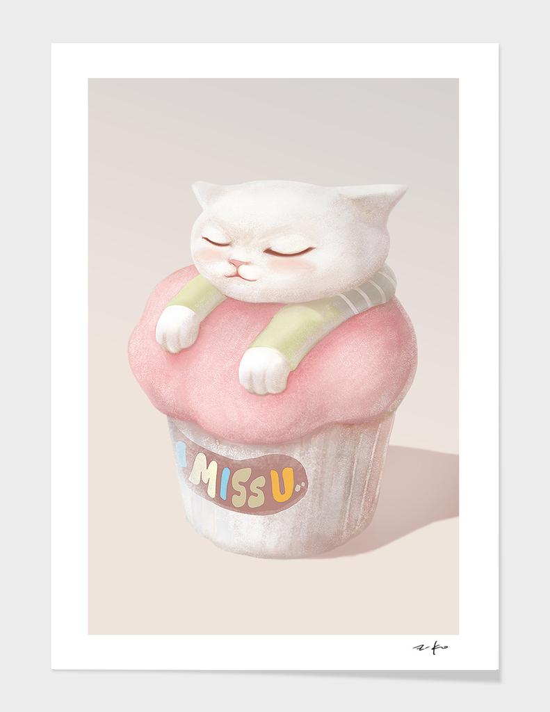 Miss You Cupcake