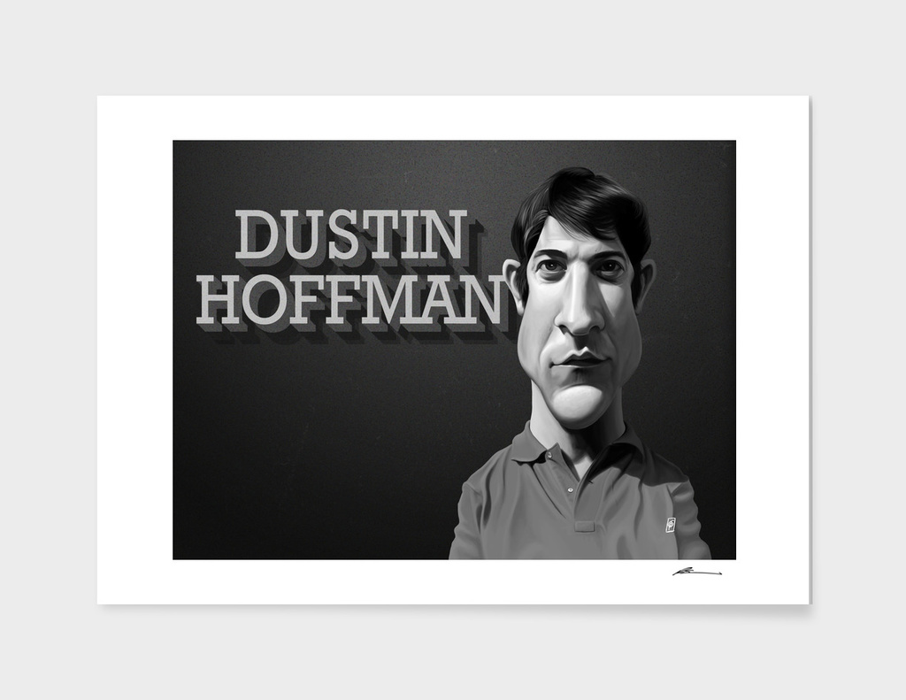 Dustin Hoffman - vintage movie card