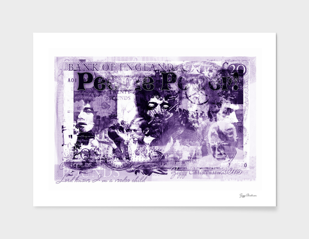 People Power (Purple bank note edition)