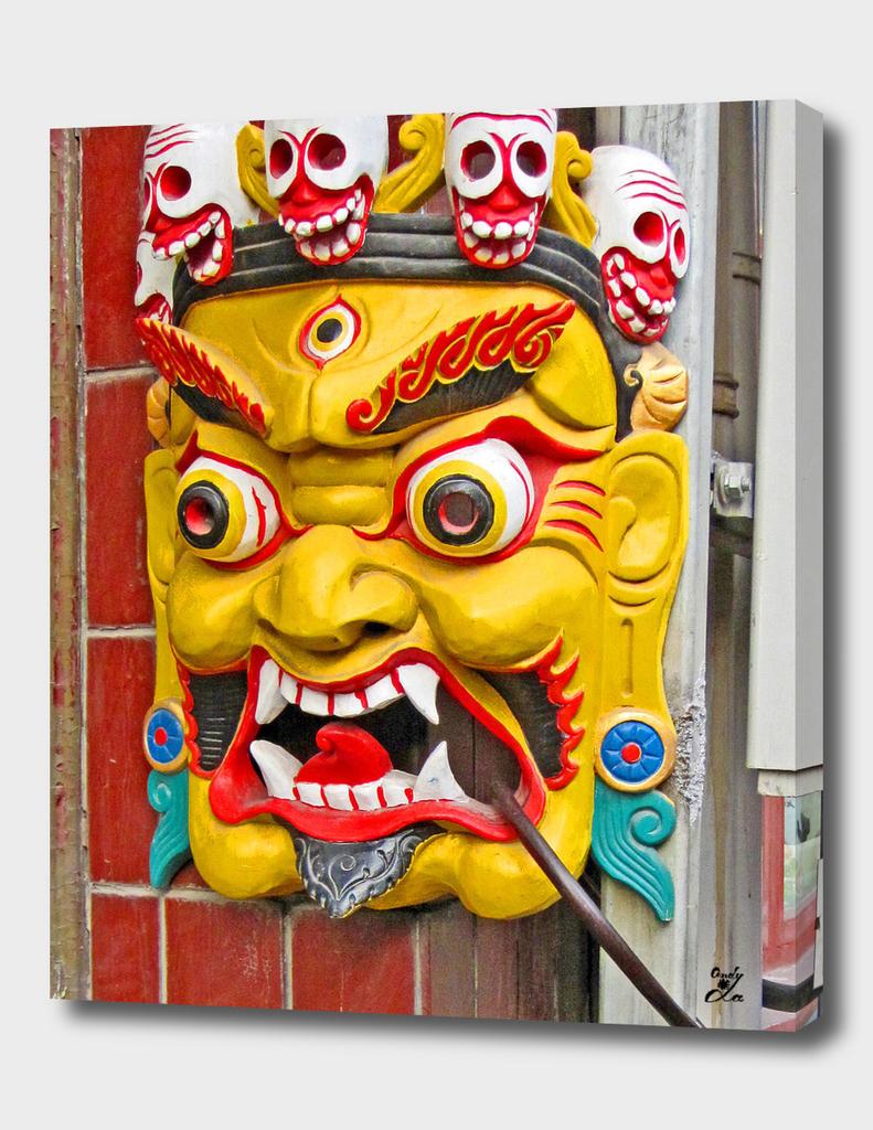 Masks. Made In China.