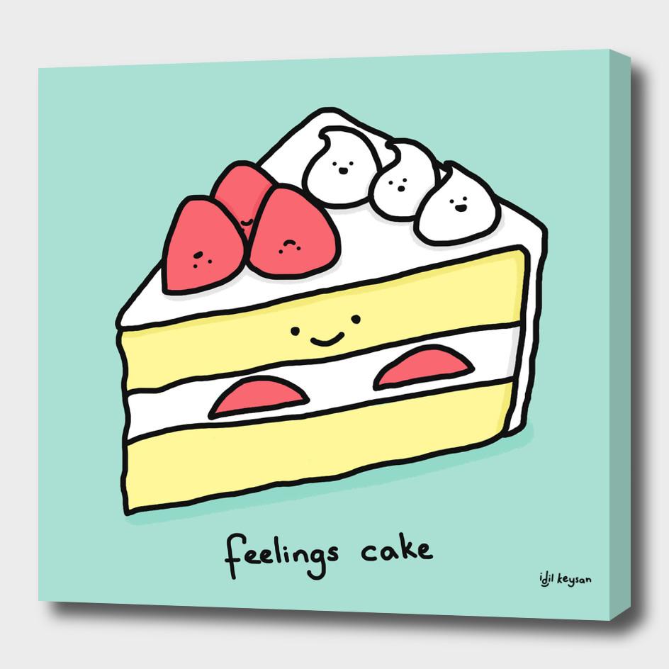 Feelings Cake