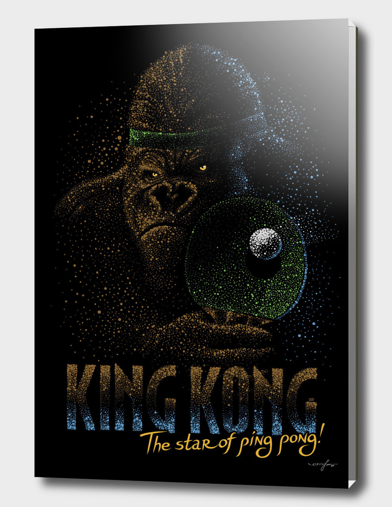 King Kong the star of ping pong