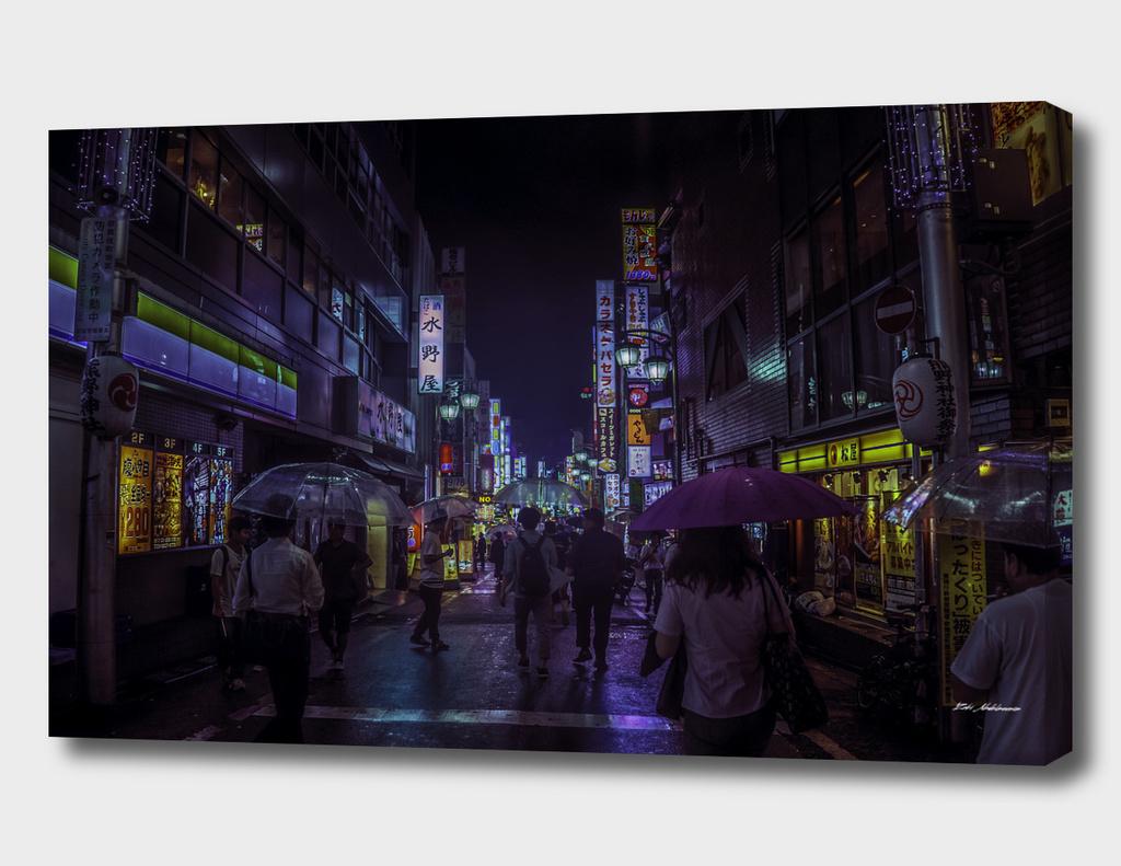 Tokyo Bloom - Dystopian Fantasy
