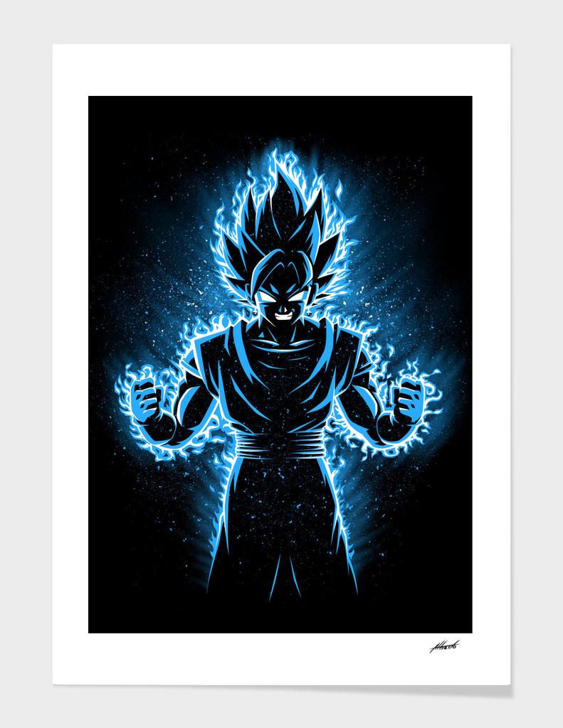 Fusion blue god