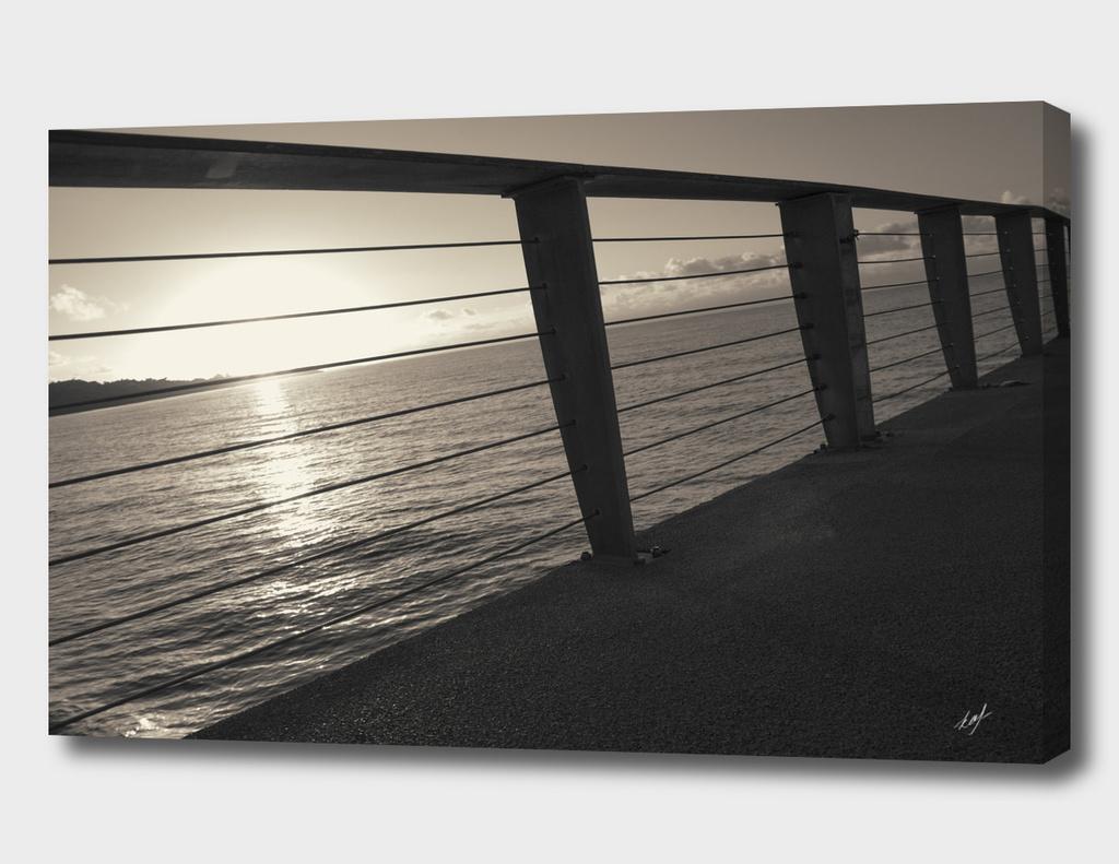 Sunrise On Pier