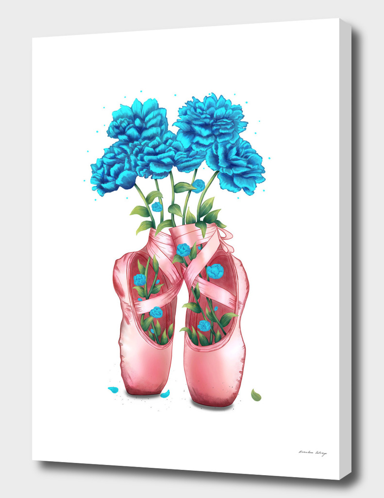 POINTE WITH  PEONIES