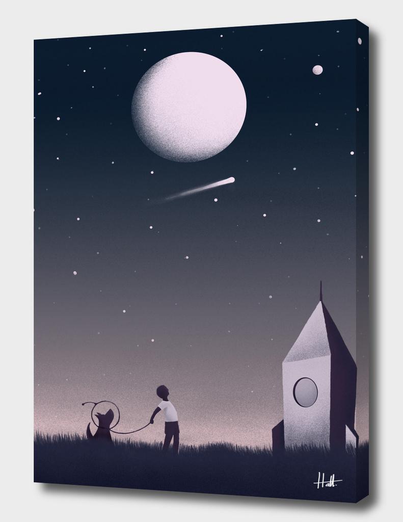 Keep Dreaming Illustration