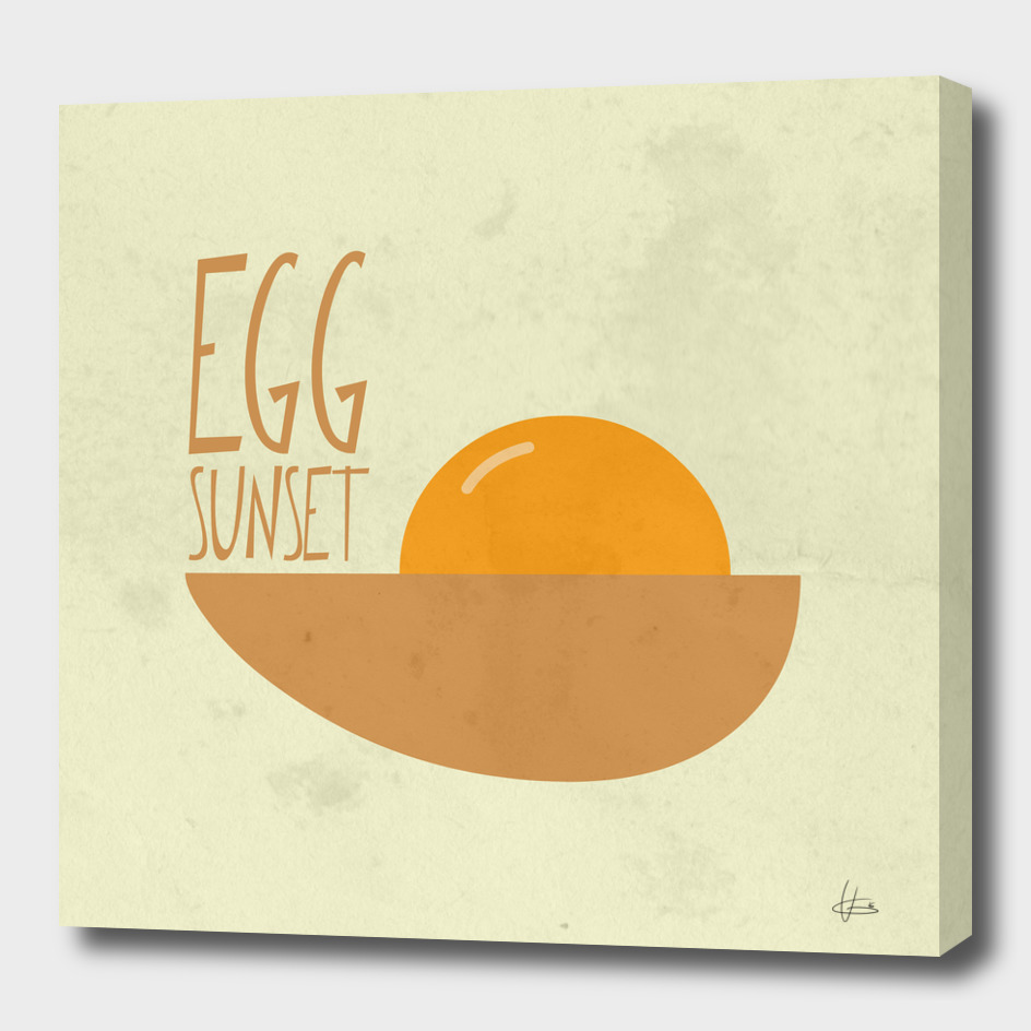 Egg Sunset
