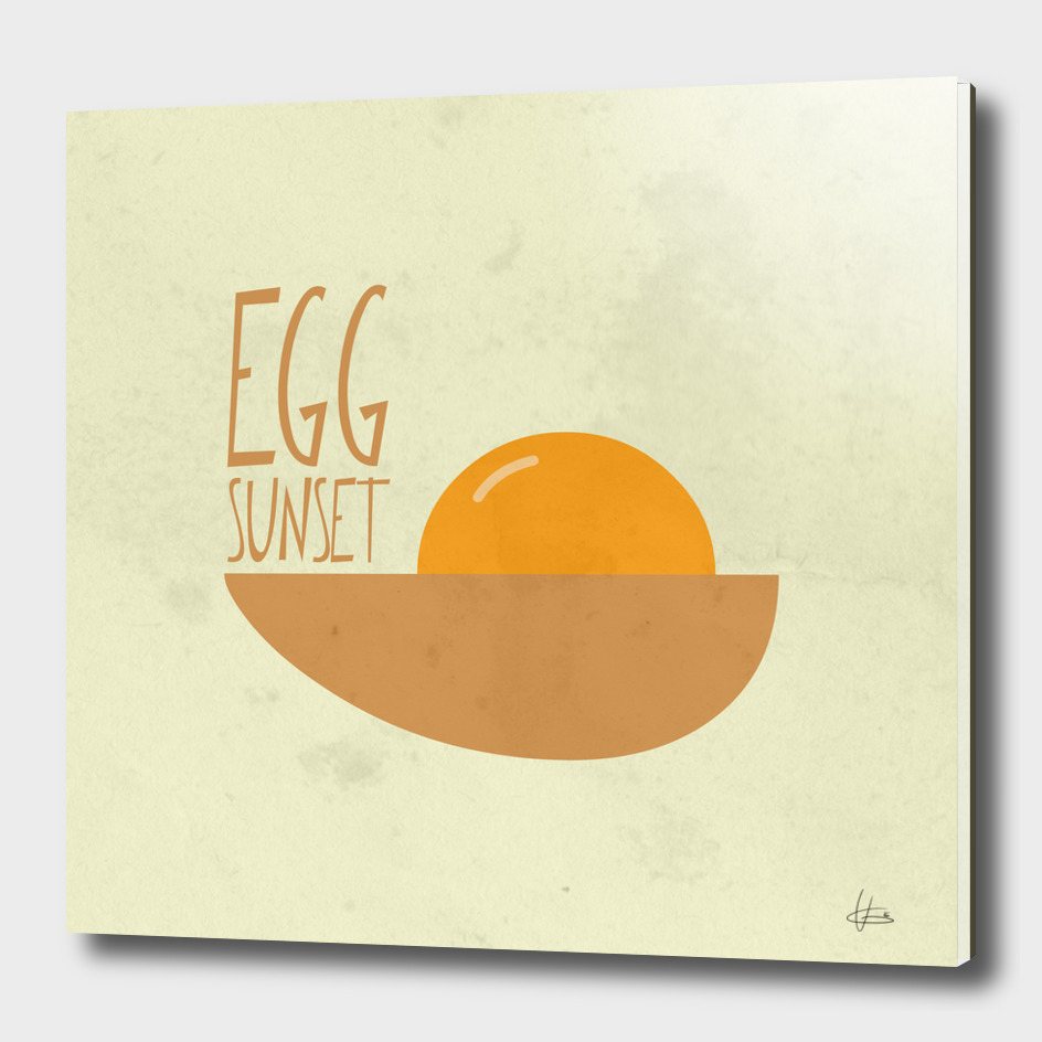 Egg Sunset