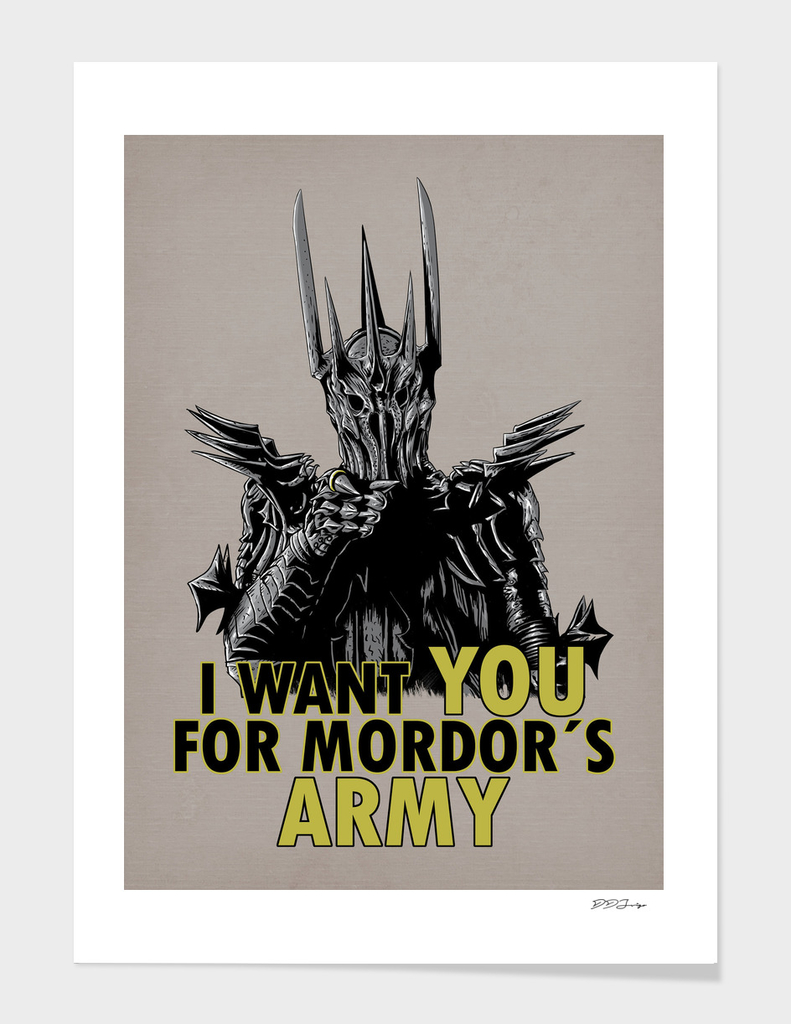 Mordor´s Army