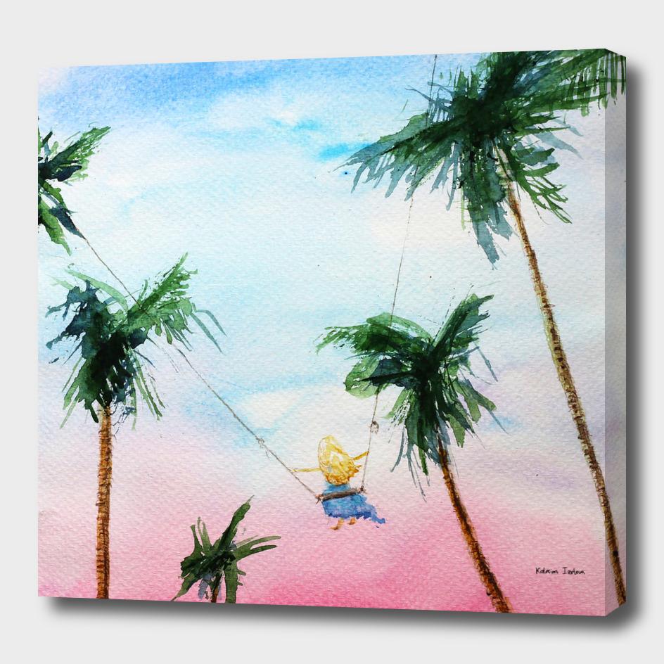 Summer dreams || watercolo