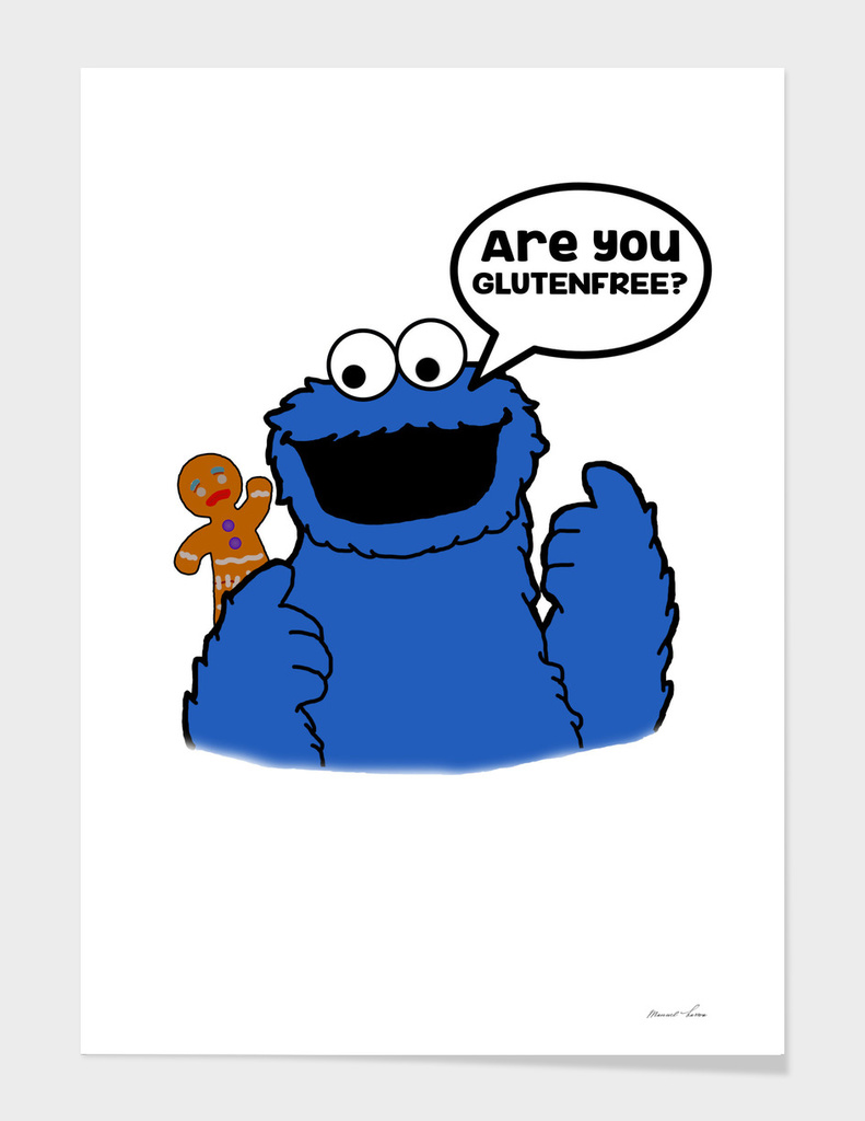 Cookie Monster Gluten