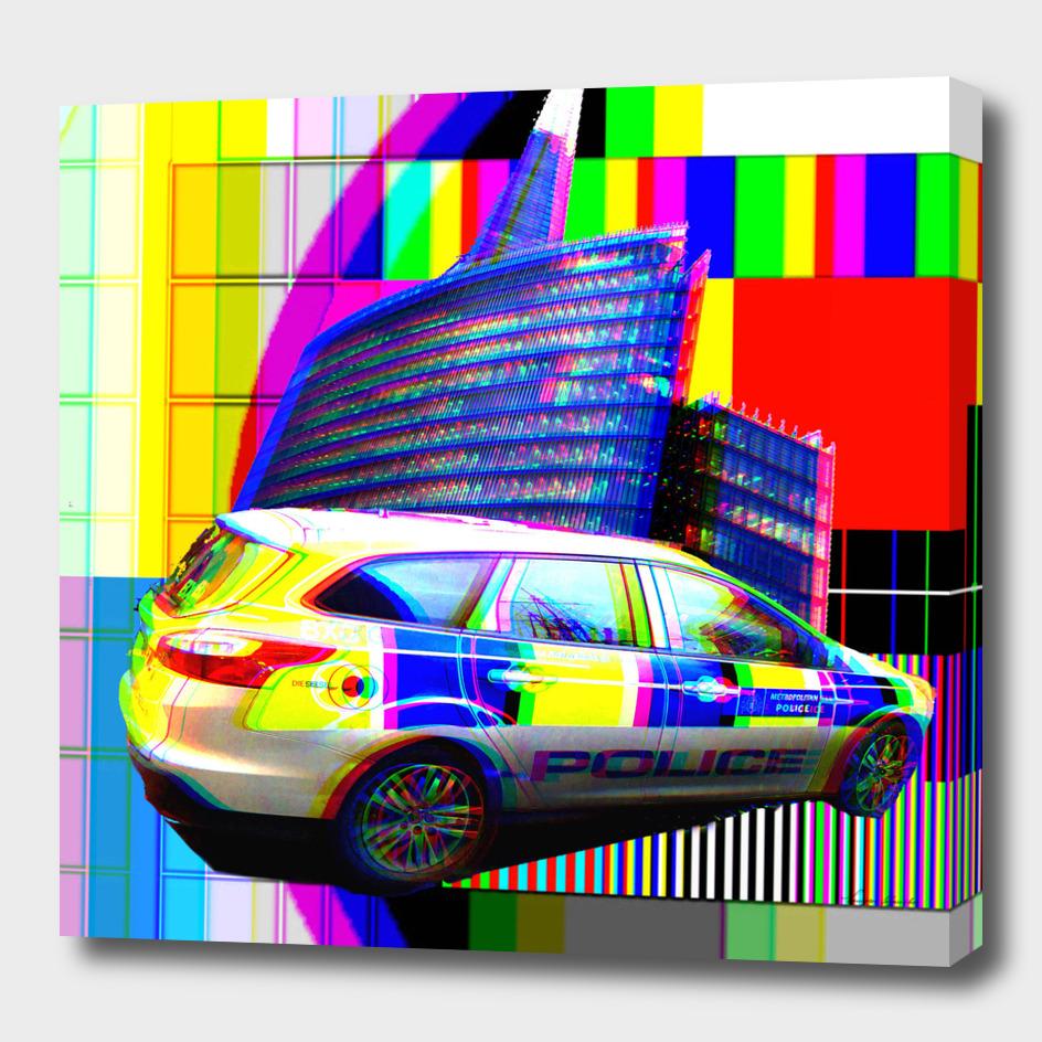 LONDON METROPOLITAN POLICE AT THE SHARD
