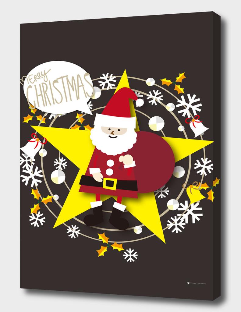 Merry Christmas Santa Claus - A
