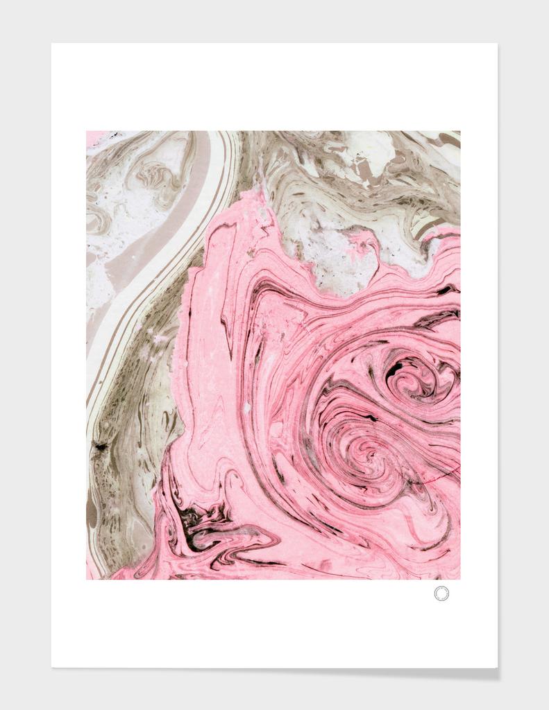 Nude+ Pink Marbling