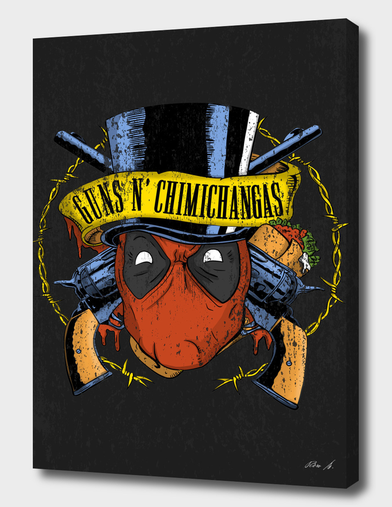 guns n chimichangas