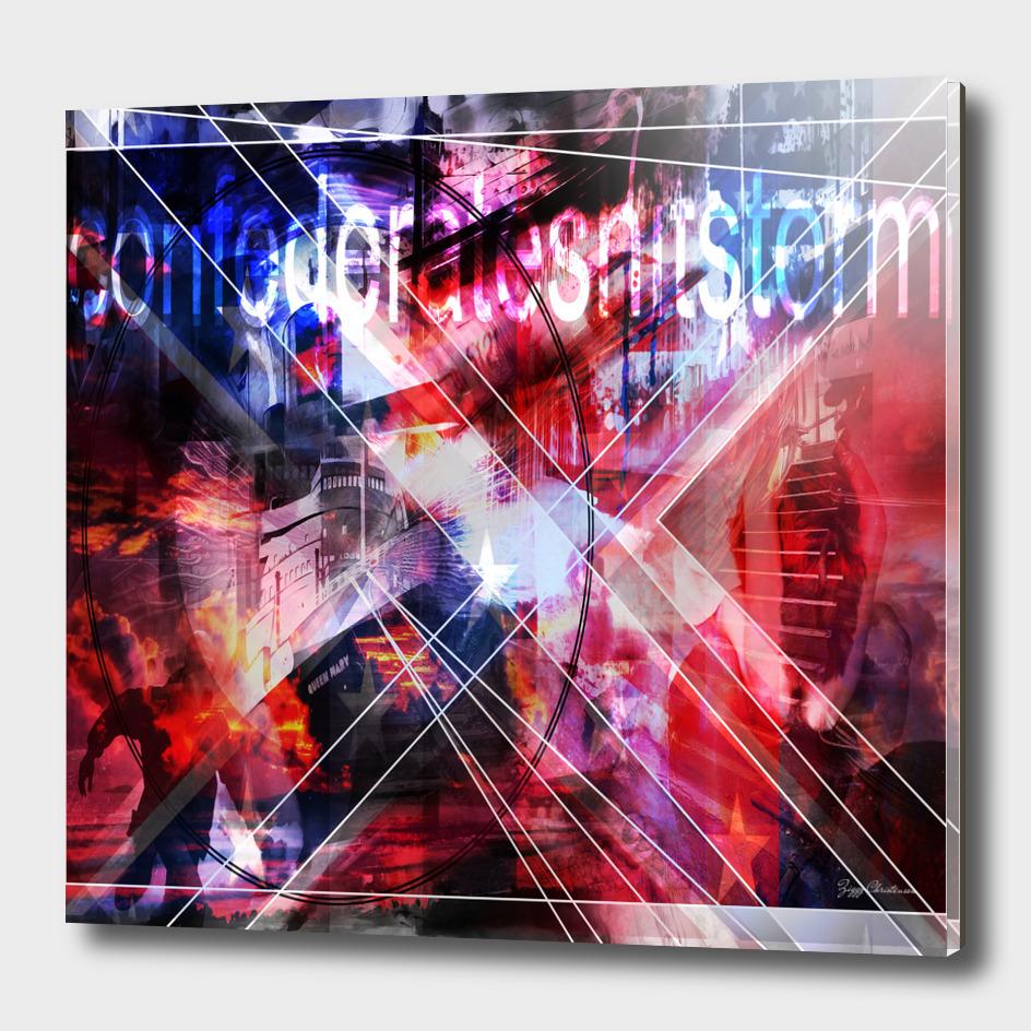 Confederateshitstorm (Square Composition)