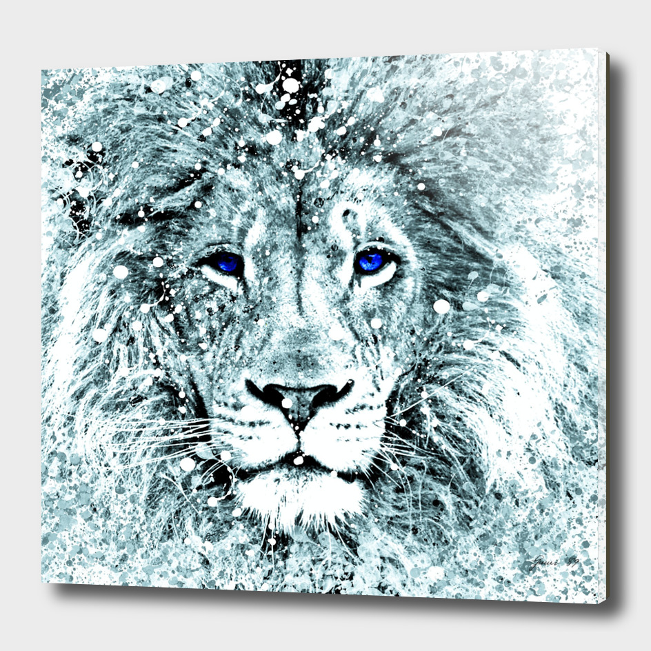 LION HEAD ABSTRACT