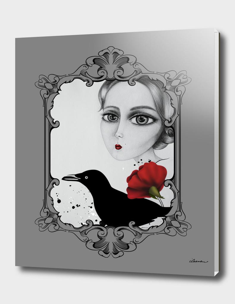 Lady & Crow