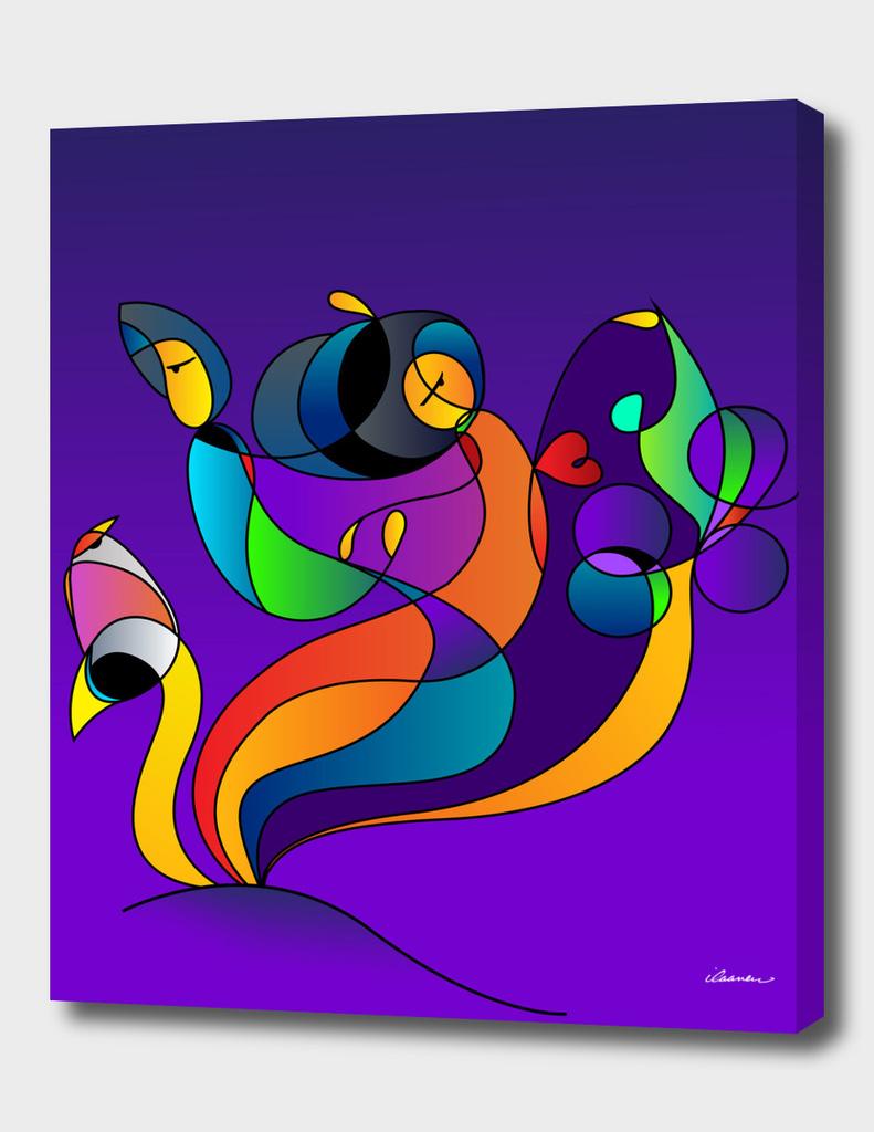 Dance & Love / Purple