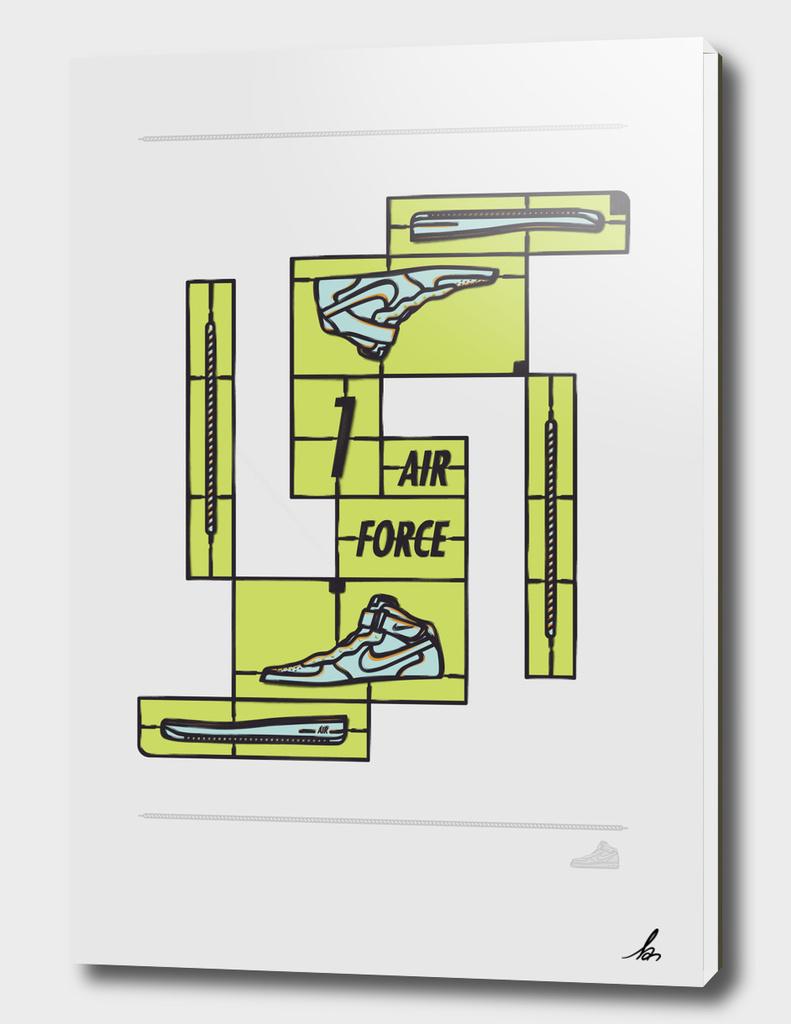 DIY-Air force 1