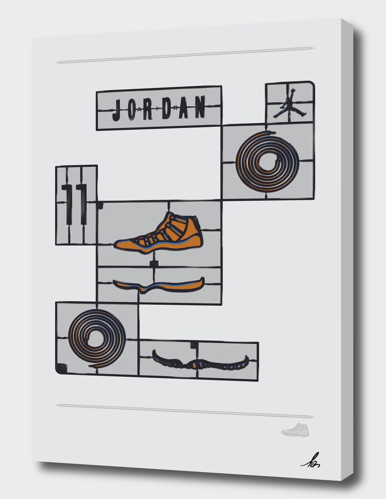 DIY-Air Jordan 11