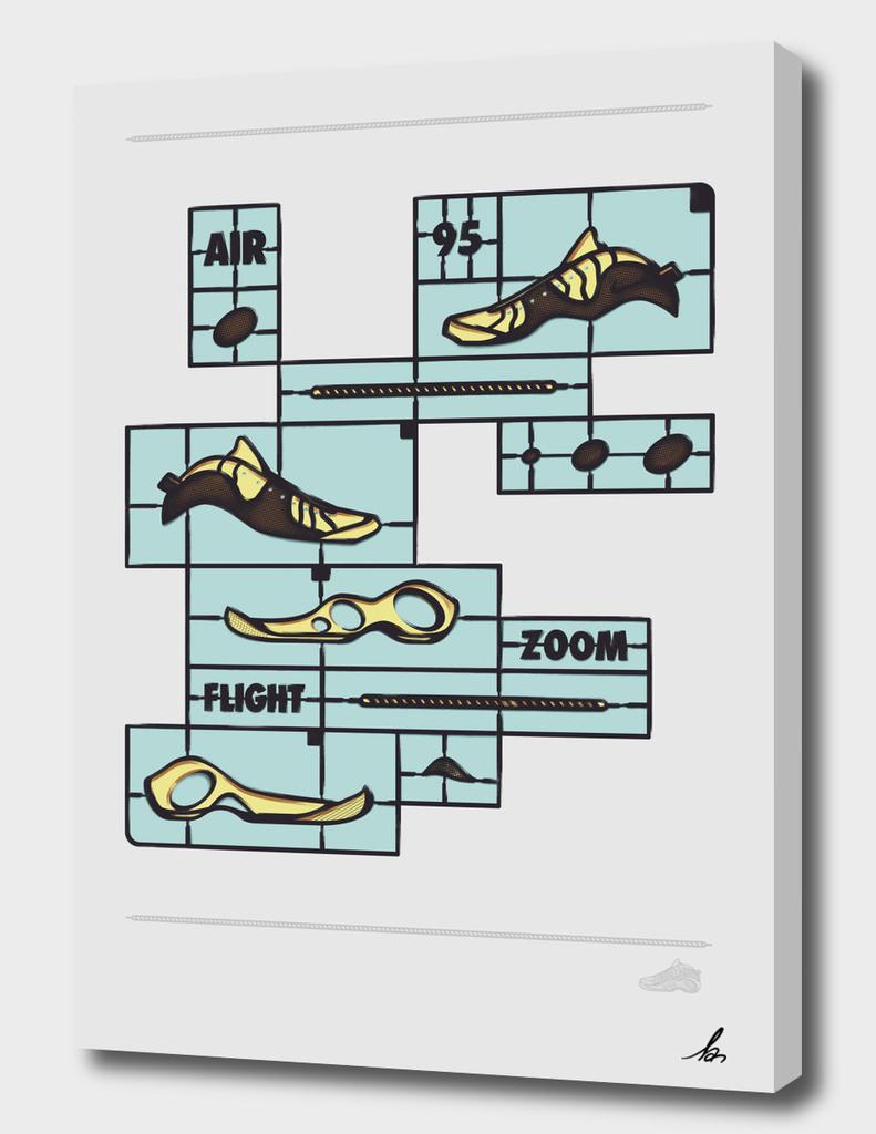 DIY-Air zoom flight