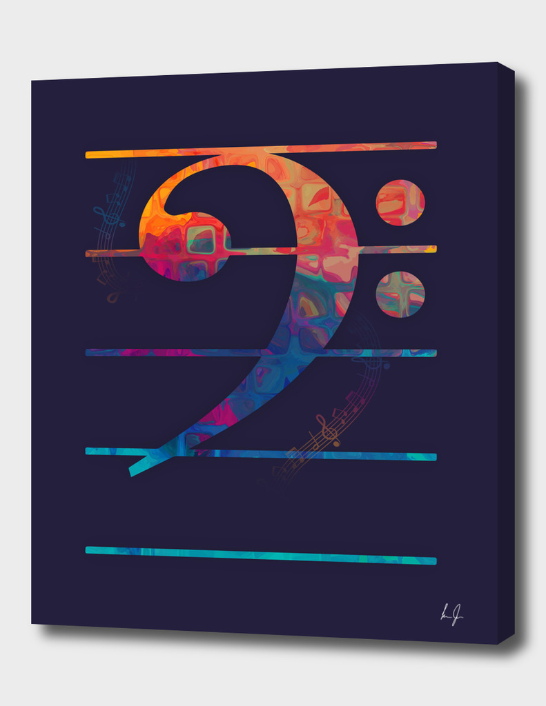 Bass Clef Color