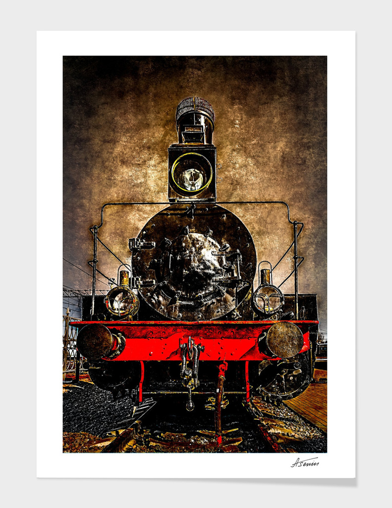 Steam Train - The Veteran