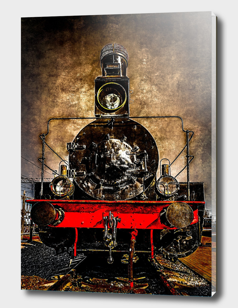 Steam Train - The Veteran