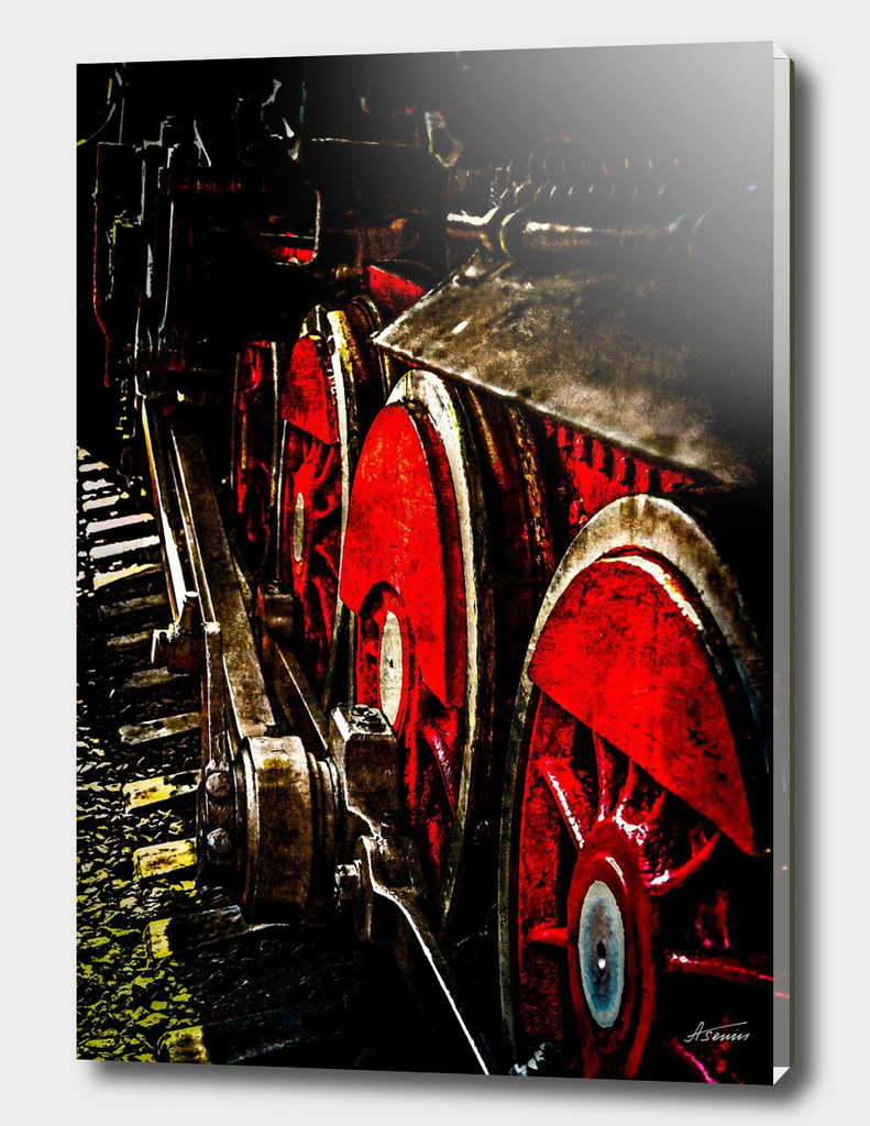 Steam Train - Wheels of Iron