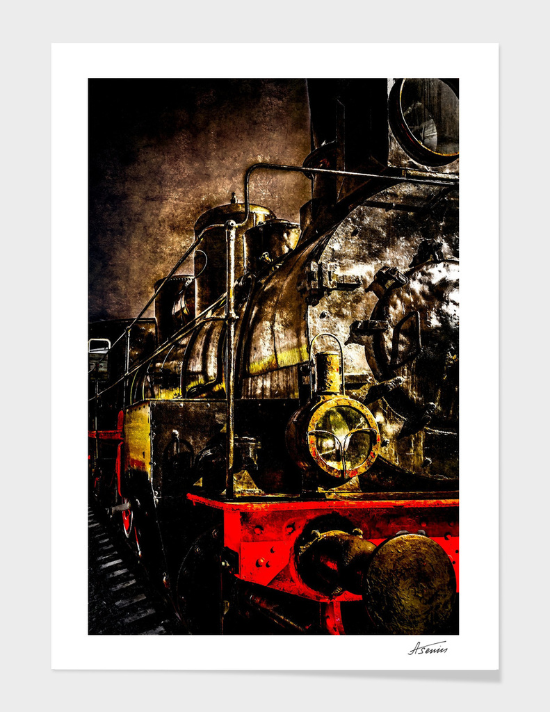 Steam Train - Old Timer