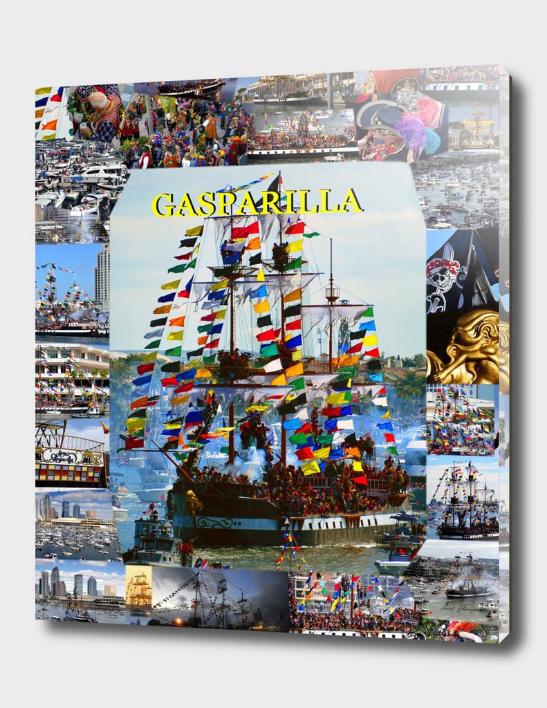 Gasparilla poster work A