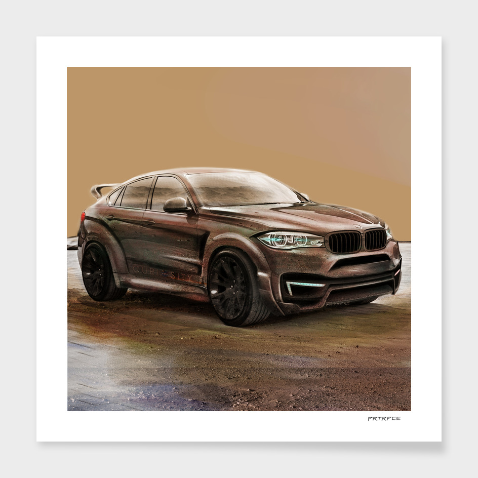 BMW X6 Mars by Artrace