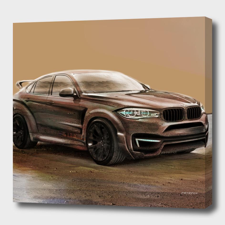 BMW X6 Mars by Artrace