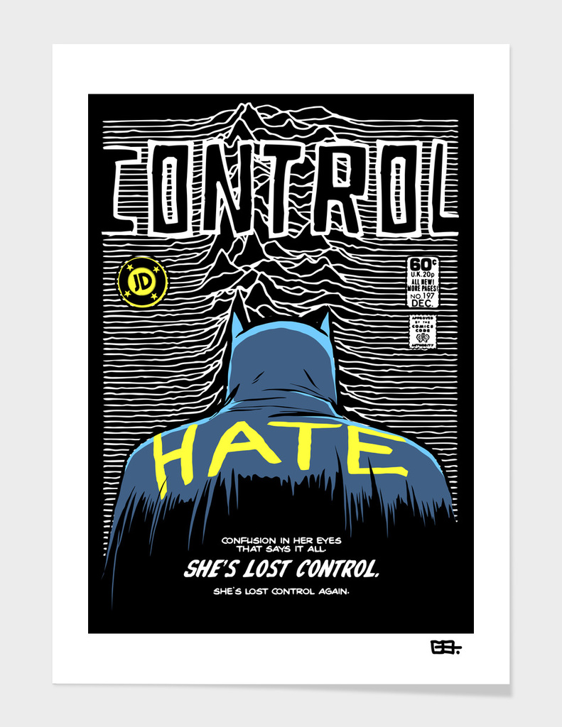 Post-Punk Dark Knight: Control