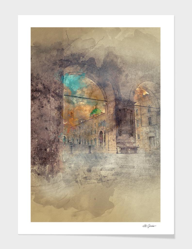 Italian architecture, arches and dome